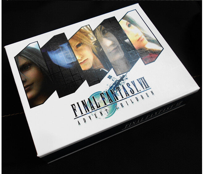 Final Fantasy 4 PCS Necklace and Weapon Key Chain 2 Styles Optional with The Original BOX - TeeAmazing