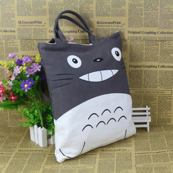My Neighbor Totoro canvas Messenger Bag shoulder bags men women bag Shopping Handbag Dual-use Bags crossbody bolsa - TeeAmazing