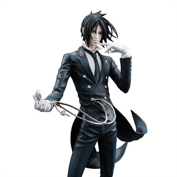 "Devil Sebastian Michaelis Japan Classic Comic Anime Toboso Yana Black Butler 9"" Action Figure Toys 62460-in-retail-box"