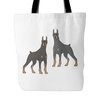 Doberman Pinscher Dog Tote Bags - Doberman Pinscher Bags - TeeAmazing - 1