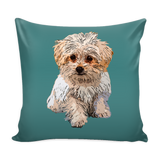 Maltese Dog Pillow Cover - Maltese Accessories - TeeAmazing - 4
