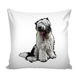 Old English Sheepdog Dog Pillow Cover - Old English Sheepdog Accessories - TeeAmazing - 2