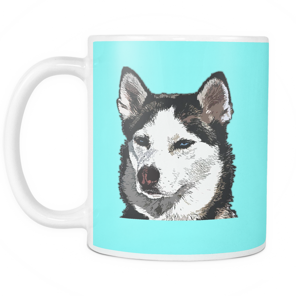 Siberian Husky Dog Mugs & Coffee Cups - Siberian Husky Coffee Mugs - TeeAmazing - 6