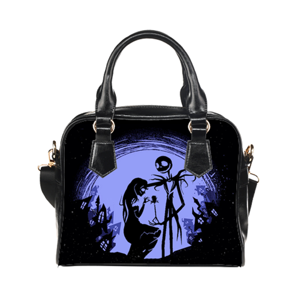 Jack Skellington & Sally Finkelstein Purse & Handbags - The Nightmare Before Christmas Bags - TeeAmazing