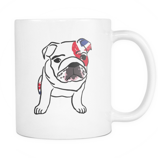 English Bulldog Dog Mugs & Coffee Cups - English Bulldog Coffee Mugs - TeeAmazing - 1