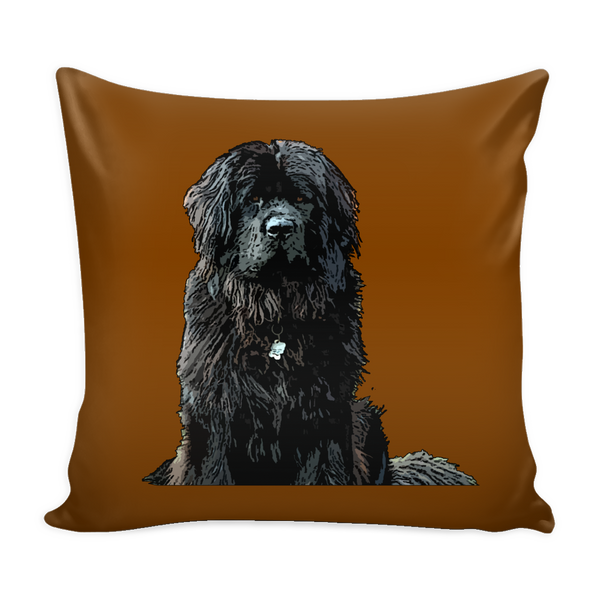 Newfoundland Dog Pillow Cover - Newfoundland Accessories - TeeAmazing - 2