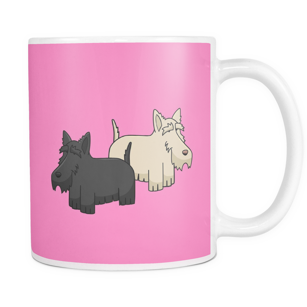 Scottish Terrier Dog Mugs & Coffee Cups - Scottish Terrier Coffee Mugs SPCM