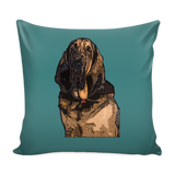 Bloodhound Dog Pillow Cover - Bloodhound Accessories - TeeAmazing - 3