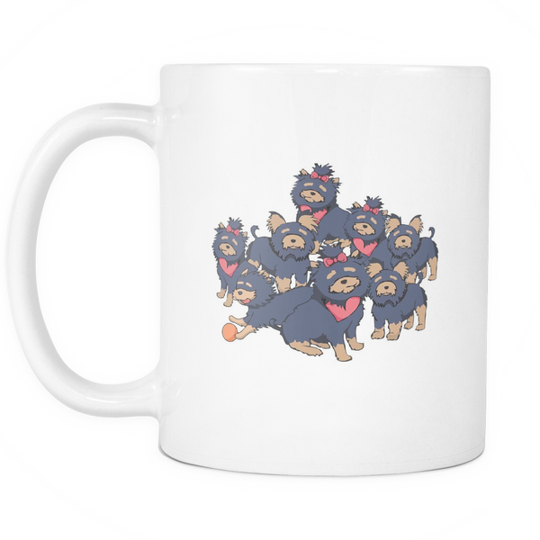 Pattern Yorkshire Terrier Dog Mugs & Coffee Cups - Yorkshire Terrier Coffee Mugs - TeeAmazing - 2