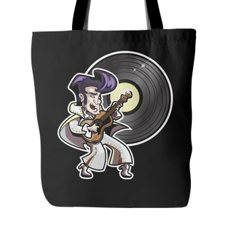 The King of Rock 'n' Roll Tote Bags - TeeAmazing - 1
