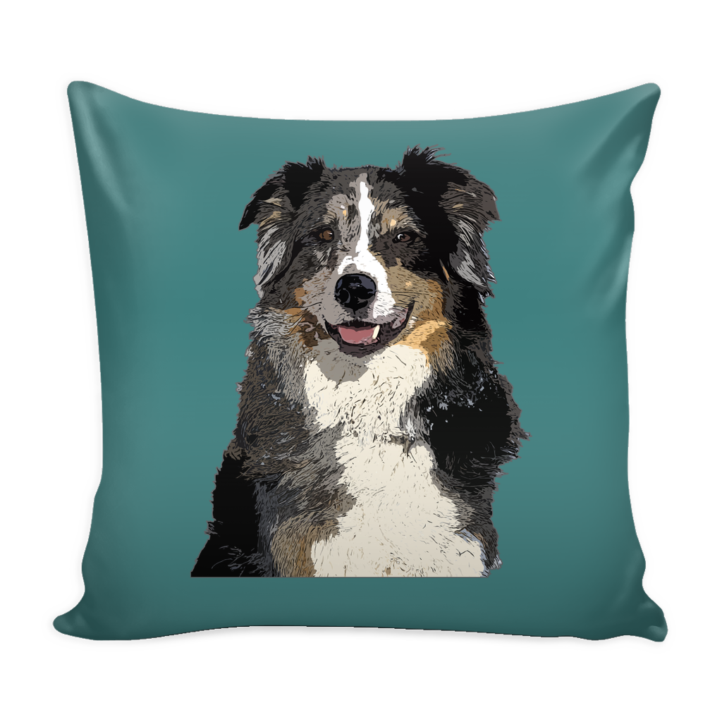 Australian Shepherd Dog Pillow Cover - Australian Shepherd Accessories - TeeAmazing