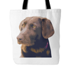 Labrador Retriever Dog Tote Bags - Labrador Retriever Bags - TeeAmazing - 2