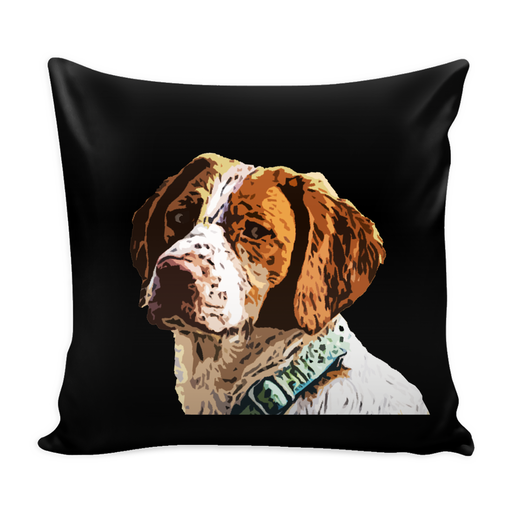 Brittany Spaniel Dog Pillow Cover - Brittany Spaniel Accessories - TeeAmazing