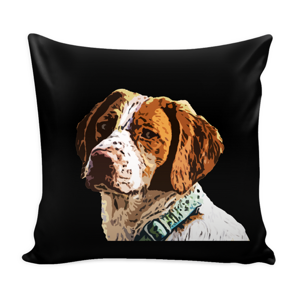 Brittany Spaniel Dog Pillow Cover - Brittany Spaniel Accessories - TeeAmazing - 2