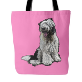 Old English Sheepdog Dog Tote Bags - Old English Sheepdog Bags - TeeAmazing - 4