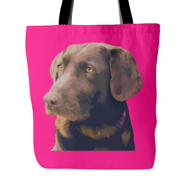 Labrador Retriever Dog Tote Bags - Labrador Retriever Bags - TeeAmazing - 4