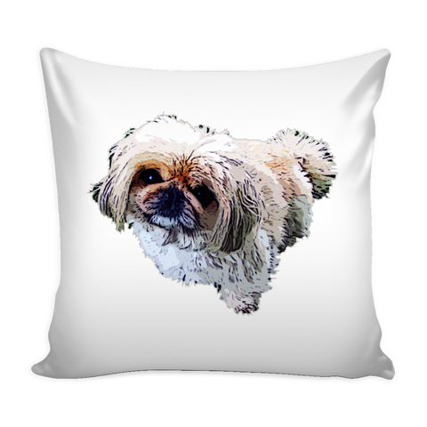 Pekingese Dog Pillow Cover - Pekingese Accessories - TeeAmazing - 1