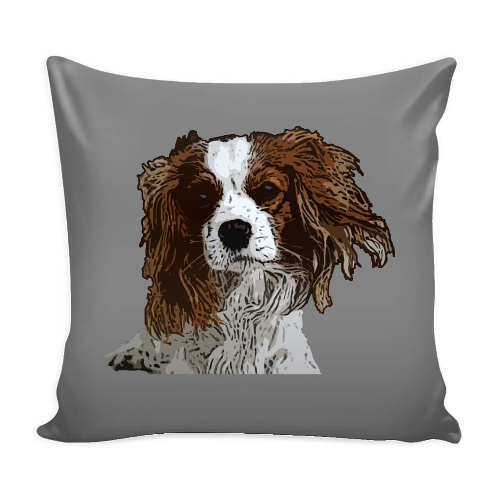 Cavalier King Charles Spaniel Dog Pillow Cover - Cavalier King Charles Spaniel Accessories - TeeAmazing - 2