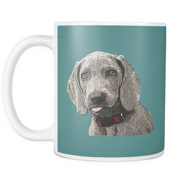 Weimaraner Dog Mugs & Coffee Cups - Weimaraner Coffee Mugs - TeeAmazing - 4