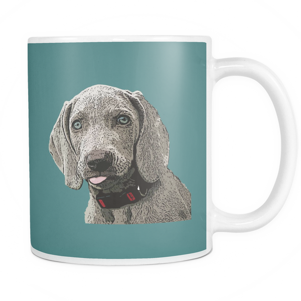 Weimaraner Dog Mugs & Coffee Cups - Weimaraner Coffee Mugs - TeeAmazing - 3