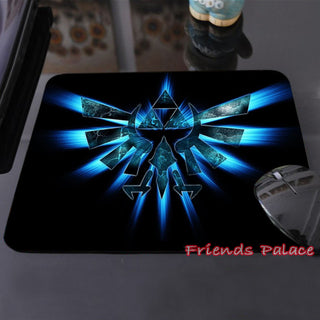 New Arrival The Legend of Zelda Eagles Logos Triforce Sword Triforce Customized Mouse Pad Computer Notebook Non-Slip Mousepad - TeeAmazing