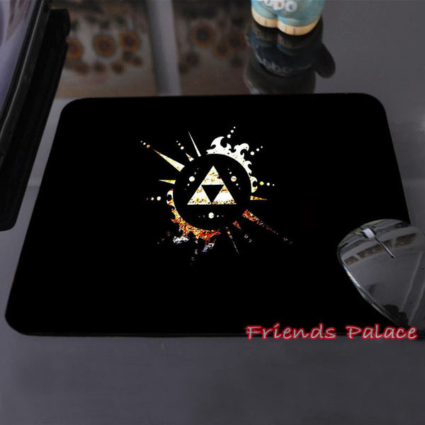 New Arrival The Legend of Zelda Eagles Logos Triforce Sword Triforce Customized Mouse Pad Computer Notebook Non-Slip Mousepad - TeeAmazing - 4