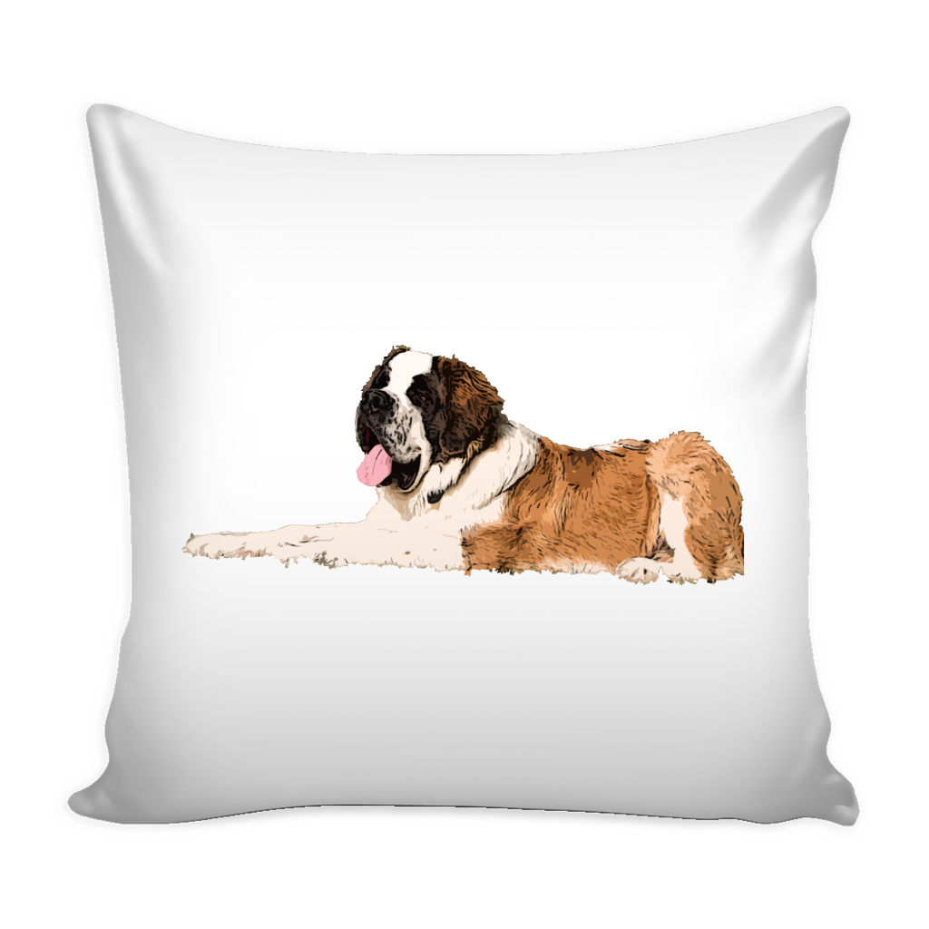 St. Bernard Dog Pillow Cover - St. Bernard Accessories - TeeAmazing - 2