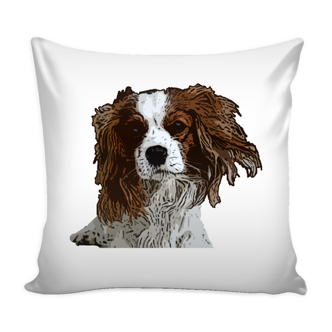 Cavalier King Charles Spaniel Dog Pillow Cover - Cavalier King Charles Spaniel Accessories - TeeAmazing - 1