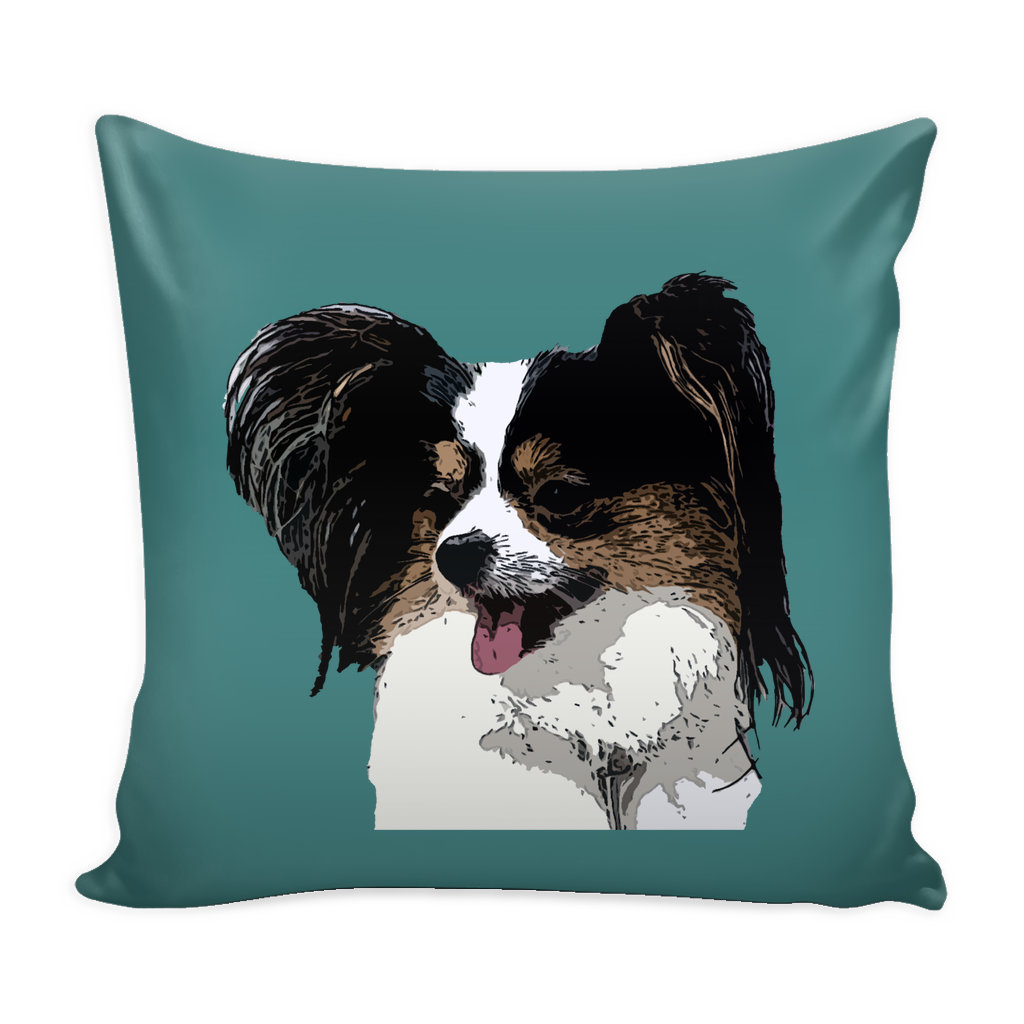 Papillon Dog Pillow Cover - Papillon Accessories - TeeAmazing