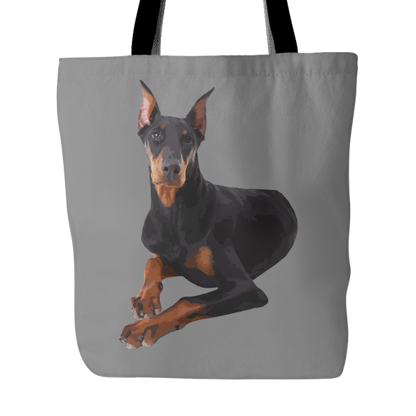 Doberman Pinscher Dog Tote Bags - Doberman Pinscher Bags - TeeAmazing - 2