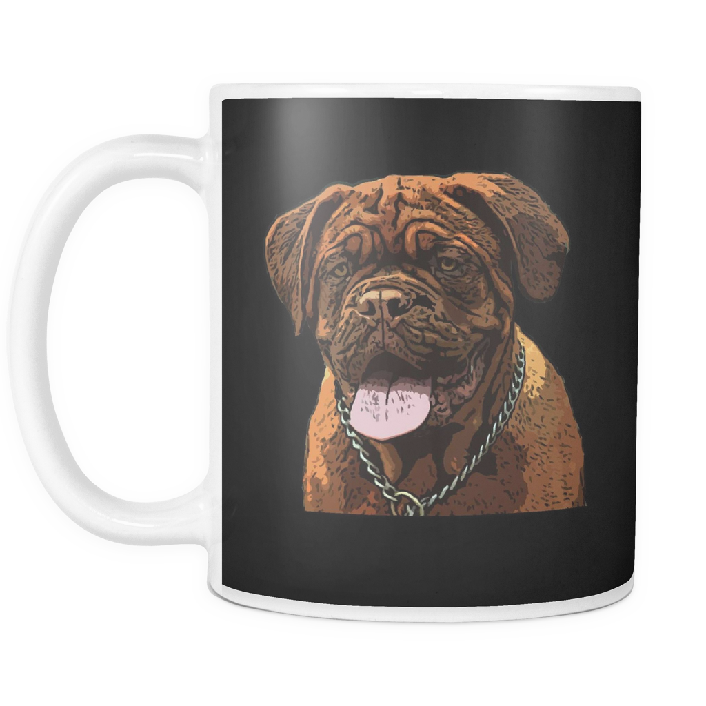 Dogues de Bordeaux Dog Mugs & Coffee Cups - Dogues de Bordeaux Coffee Mugs - TeeAmazing