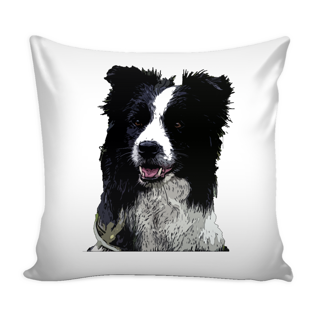 Border Collie Dog Pillow Cover - Border Collie Accessories - TeeAmazing