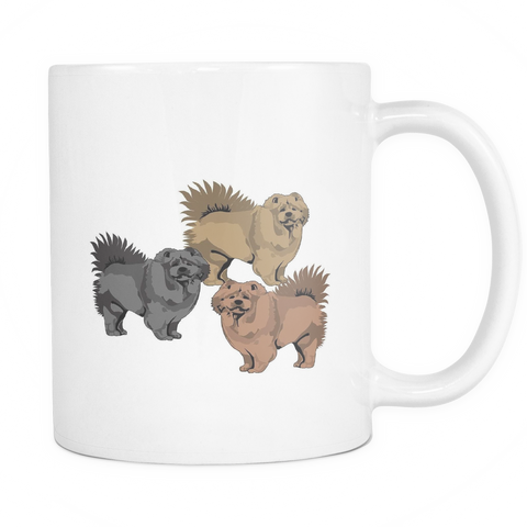 Chow Chow Dog Mugs & Coffee Cups - Chow Chow Coffee Mugs - TeeAmazing