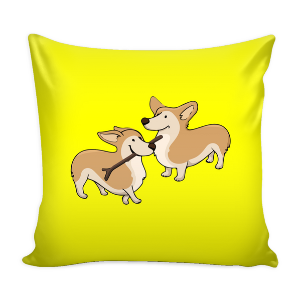 Corgi Dog Pillow Cover - Corgi Accessories - TeeAmazing - 3