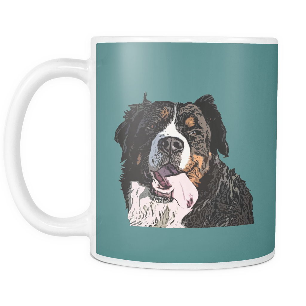 Bernese Mountain Dog Mugs & Coffee Cups - Bernese Mountain Coffee Mugs - TeeAmazing