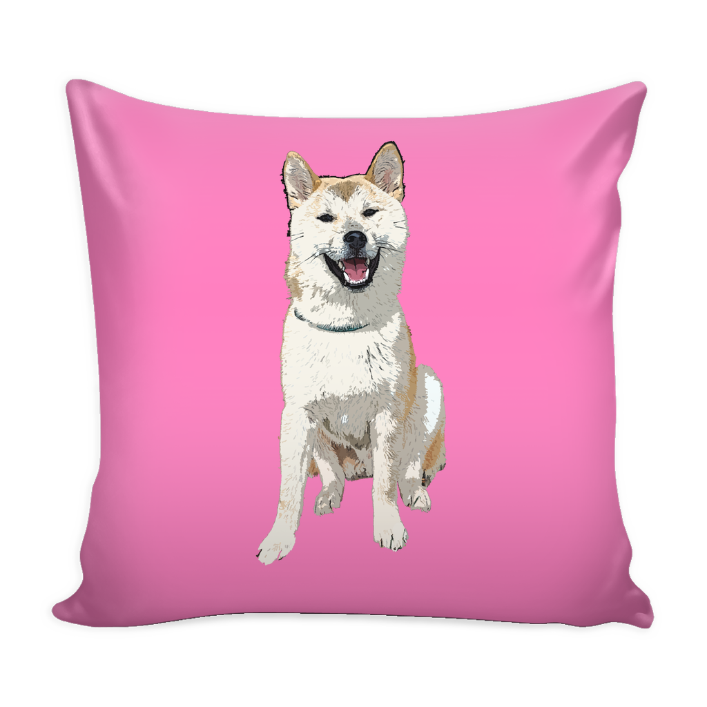 Akita Dog Pillow Cover - Akita Accessories - TeeAmazing - 4