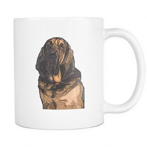 Bloodhound Dog Mugs & Coffee Cups - Bloodhound Coffee Mugs - TeeAmazing - 1