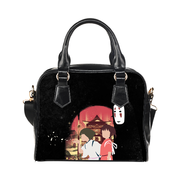 Ichiro & Haku & No face Purse & Handbags - Spirited Away Bags - TeeAmazing