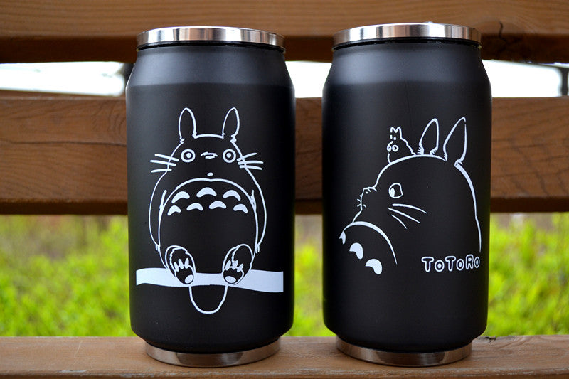 Totoro Cup Stainless Steel Vacuum Cup Double Grinding Heat Preservation - TeeAmazing