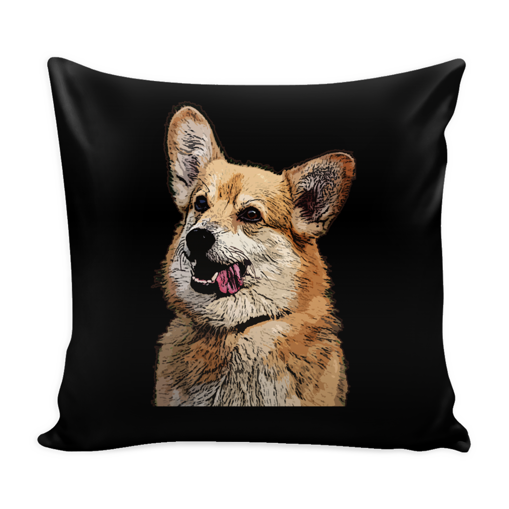 Pembroke Welsh Corgi Dog Pillow Cover - Pembroke Welsh Corgi Accessories - TeeAmazing