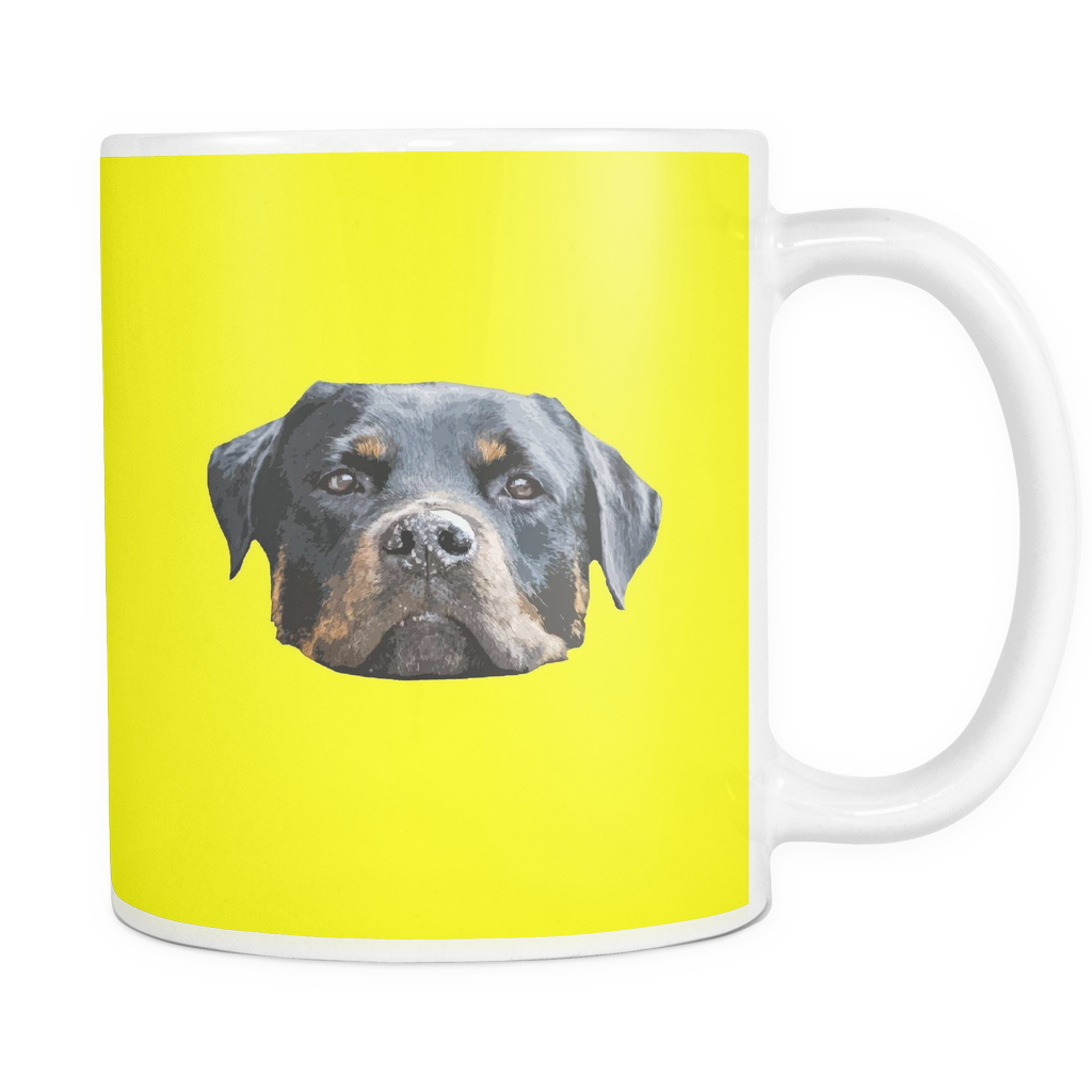 Rottweiler Dog Mugs & Coffee Cups - Rottweiler Coffee Mugs - TeeAmazing