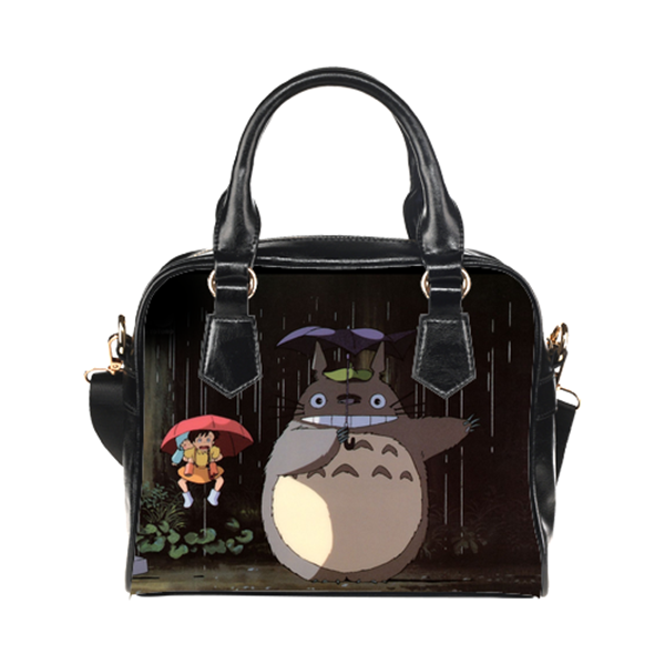Totoro Umbrella Scene Purse & Handbags - Totoro Bags - TeeAmazing