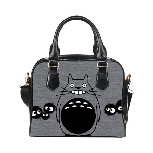 Totoro Handbags Twin Side - Custom Totoro Moon Bags - TeeAmazing