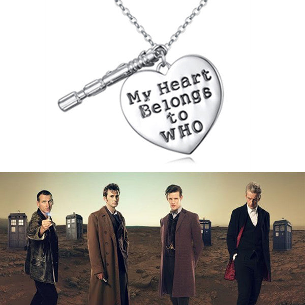 Doctor Who Sonic screwdriver Style Pendant Jewelry Gifts Necklaces & Pendants Chain Necklace Women Accessories - TeeAmazing