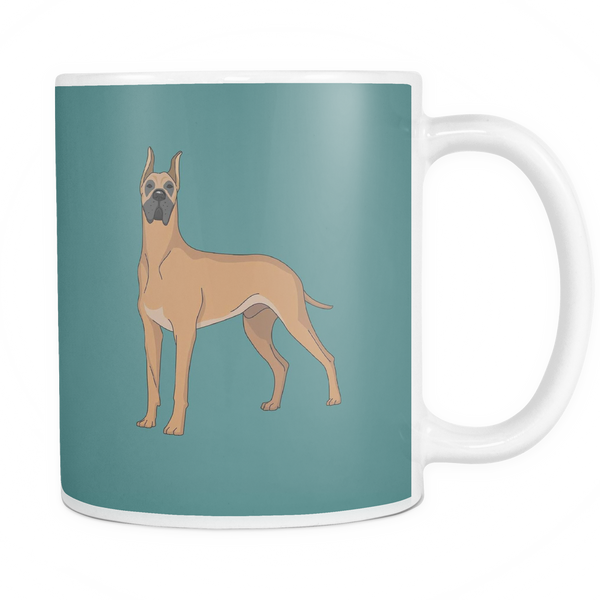 Great Dane Dog Mugs & Coffee Cups - Great Dane Coffee Mugs - TeeAmazing - 5