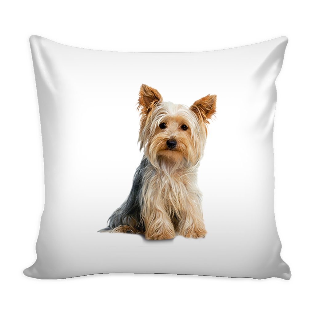 yorkie accessory yorkshire terrier dog pillow cover yorkshire terrier 8110