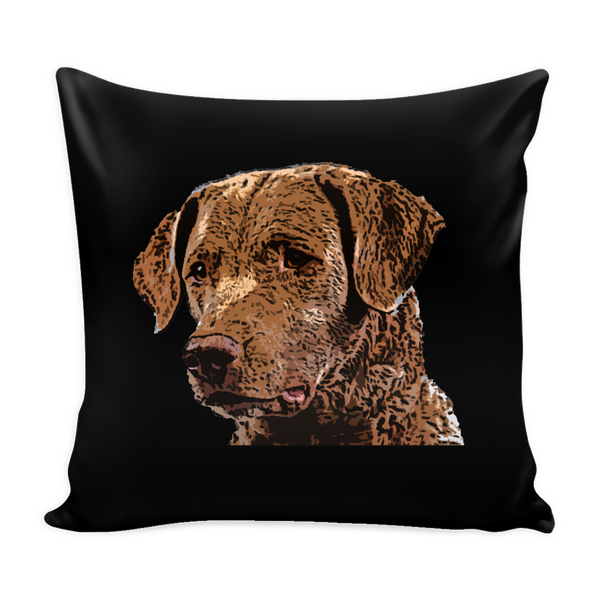 Chesapeake Bay Retriever Dog Pillow Cover - Chesapeake Bay Retriever Accessories - TeeAmazing - 2