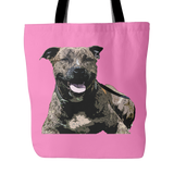 Staffordshire Bull Terrier Dog Tote Bags - Staffordshire Bull Terrier Bags - TeeAmazing - 4