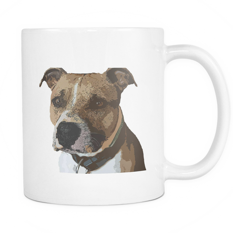 American Staffordshire Terrier Dog Mugs & Coffee Cups - American Staffordshire Terrier Coffee Mugs - TeeAmazing
