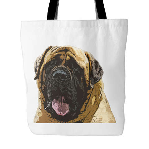 English Mastiff Dog Tote Bags - English Mastiff Bags - TeeAmazing